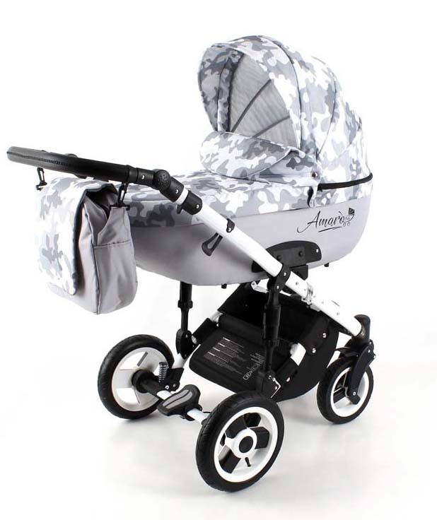 Детская коляска AmaroBaby Soft 2 в 1