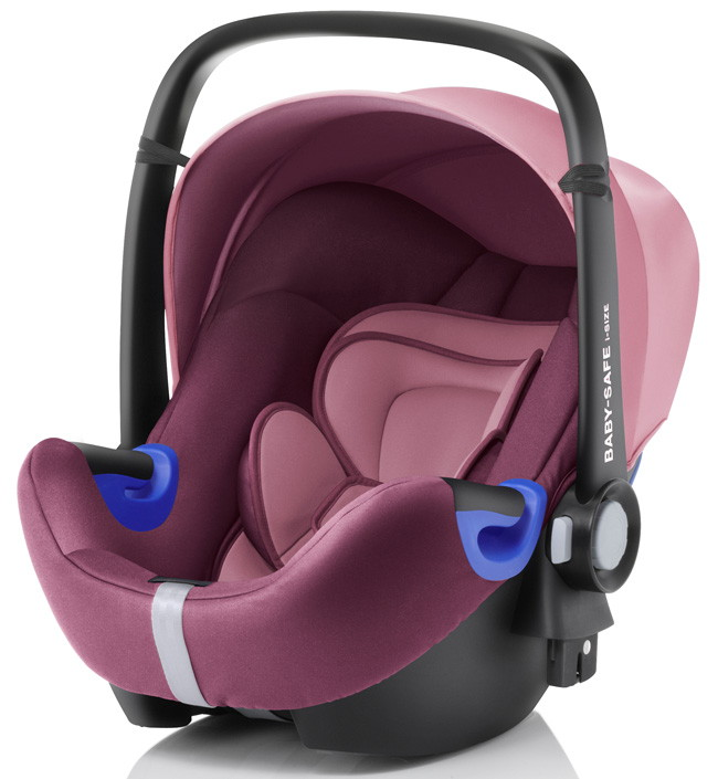 Автокресло Britax Roemer Baby-Safe i-Size + база FLEX Wine Rose